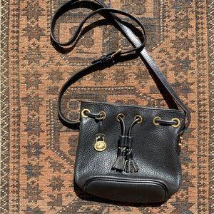 VTG Dooney & Bourke Drawstring Bucket Bag